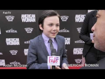 "veteran actor Aidan McGraw  ""AMERICAN WOMAN""  premiere"