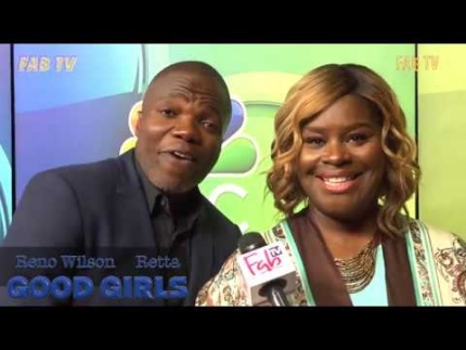 "Reno Wilson & Retta love ""GOOD GIRLS""  on FabTV"