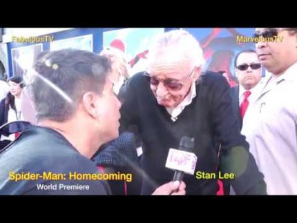 Legend 'Stan Lee' at Spider Man: Homecoming talks about this best 'Spider-Man' ever!