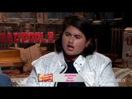 """Deadpool 2"" press junket with Julian Dennison"