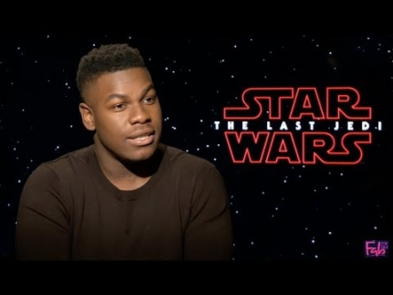 Star Wars: 'The Last Jedi' with John Boyega on FabTV