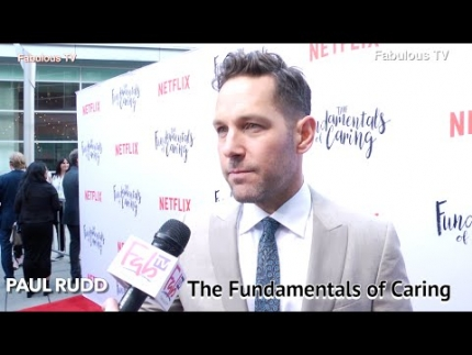 Paul Rudd at The Fundamentals of Caring  premiere on Fabulous TV