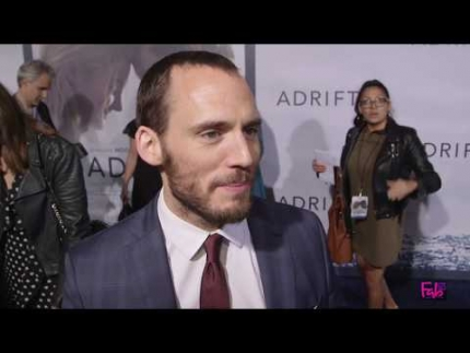 "Sam Claflin arrives at the ""Adrift""  Red Carpet"
