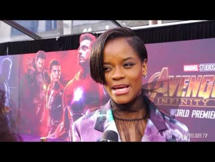 Letitia Wright 'Shuri' at  Avengers: Infinity War WORLD PREMIERE