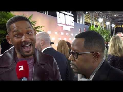 EXCLUSIVE!!!   Will Smith & Martin Lawrence BAD BOYS for LIFE!!!