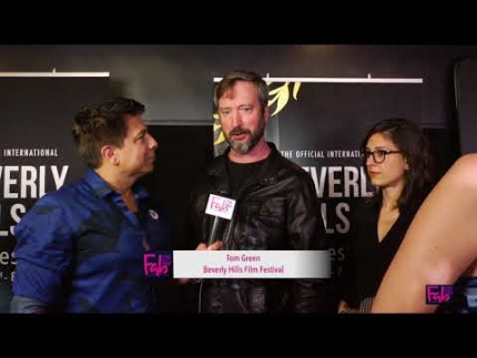 Tom Green at the 'Beverly Hills Film Festival' red carpet
