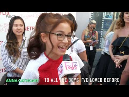 """Anna Cathcart  """"To All the Boys I've Loved Before""""  premiere"""