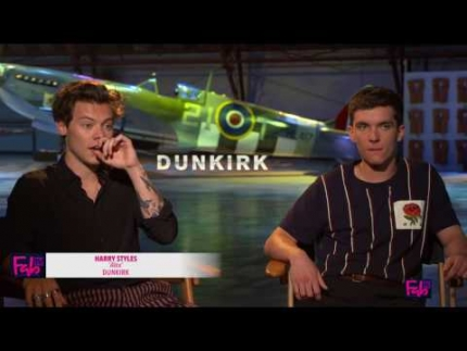 Harry Styles & Fionn Whitehead star in 'DUNKIRK' they were in WAR!!!