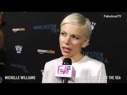 Michelle Williams talks about 'MANCHESTER by the SEA' premiere on Fabulous TV