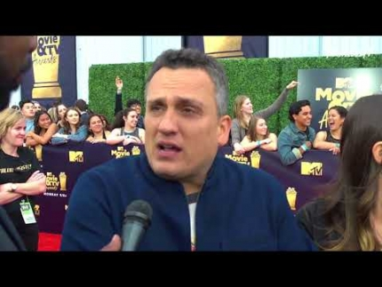 Avengers director Joe Russo at MTV Movie & TV Awards 2018