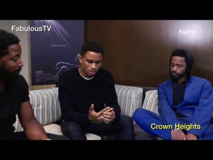 Nnamdi Asomugha & Lakeith Stanfield talk about 'Crown Heights' on FabulousTV