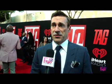 "Jon Hamm at the ""TAG"" Red Carpet & Premiere"