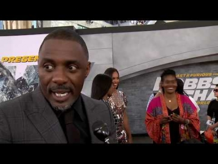 "Hobbs & Shaw Premiere ""Idris Elba"""