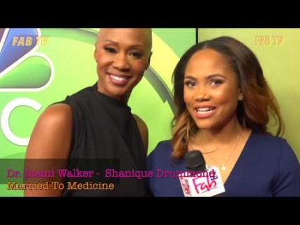 "Dr. Imani Walker & Shanique Drummond from  ""Married to Medicine"" Los Angeles"