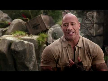 "Jumanji ""The Next Level"" Dwayne Johnson"