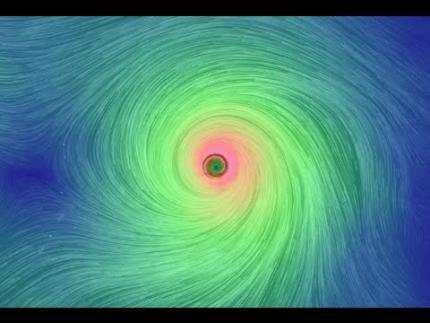 Atlantic Hurricane Forming.