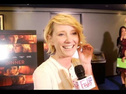 Anne Heche at 'THE DINNER' world premiere at the WGA Beverly Hills