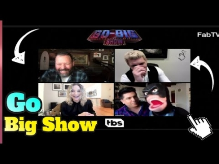 """Go Big Show"" interview with the cast special guest star!"