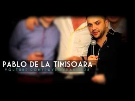 Pablo de la Timisoara - Zana dupa care mor **LIVE NOU**