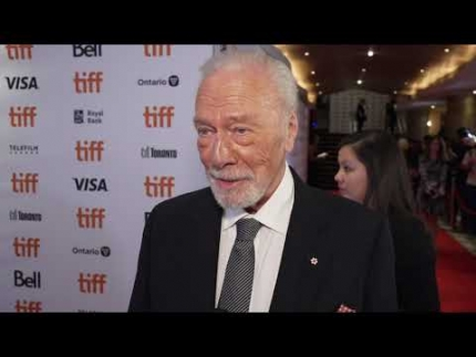 "Christopher Plummer at TIFF ""KNIVES OUT"" premiere"