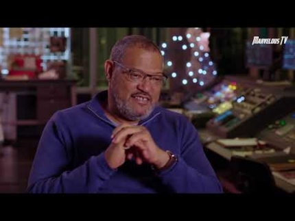 "Exclusive:  Laurence Fishburne details ""Ant Man & The Wasp"""