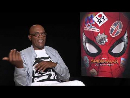 "Sam Jackson is  NICK FURY in Spider-Man ""Far From Home"""