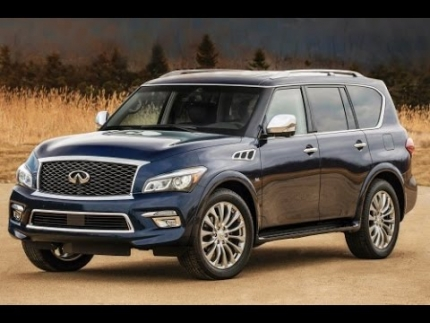 2015 Infiniti QX80 Start Up and Review 5.6 L V8