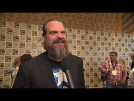 "COMIC CON  2019 with ""DAVID HARBOUR"" Black Widow"