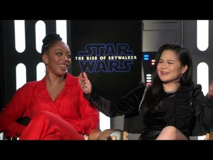 "Kelly Marie Tran & Naomi Ackie ""Star Wars: The Rise of Skywalker"""