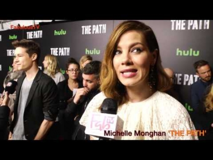 Michelle Monaghan talks about the character in Hulu's 'THE PATH'