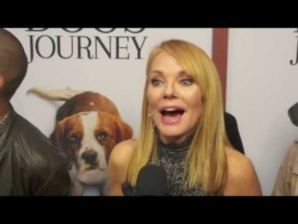 "Marg Helgenberger ""A Dog's Journey"" Premiere Soundbites"