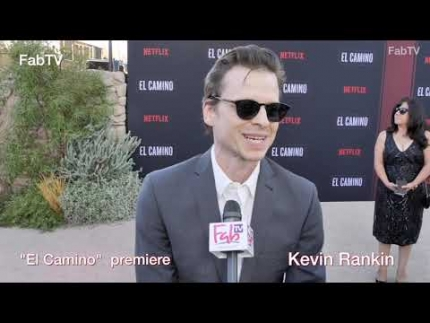 "Kevin Rankin at ""EL CAMINO""  world premiere & red carpet"