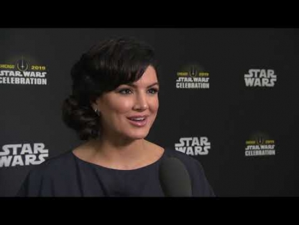 STAR WARS CELEBRATION CHICAGO 2019  Gina Carano