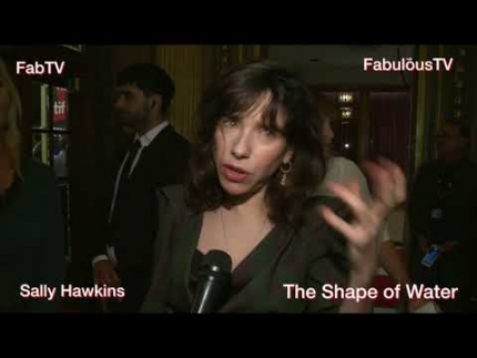 Star of 'The Shape of Water' Sally Hawkins shocked about...  on...