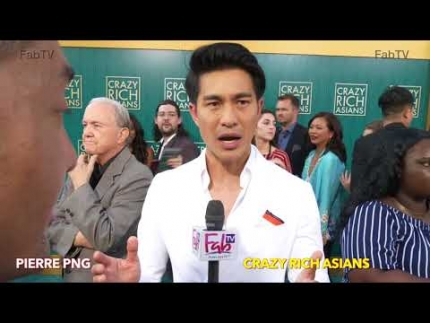 "Pierre Png about What it takes!  ""Crazy Rich Asians""  World Premiere"