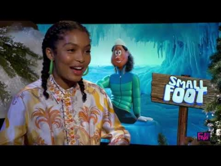 "Yara Shahidi details ""SmallFoot"" and hair"