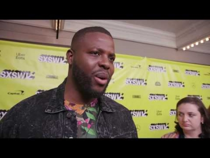 "Winston Duke at the ""US"" SXSW Red Carpet"