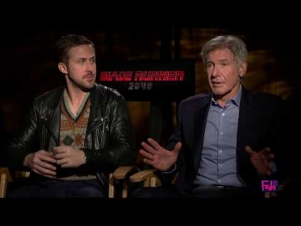 'Blade Runner 2049' with Harrison Ford & Ryan Gosling