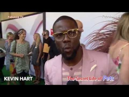 Kevin Hart at The Secret Life of Pets premiere on Fabulous TV