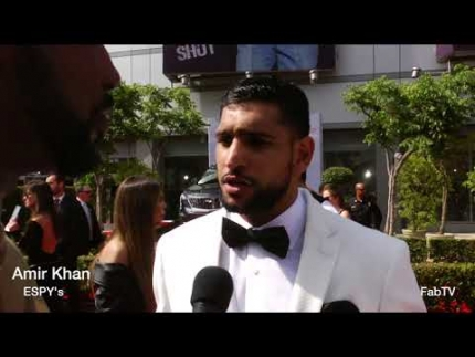 Amir Khan at 2018 ESPY's