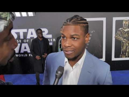 John Boyega details STAR WARS: The Rise of Skywalker