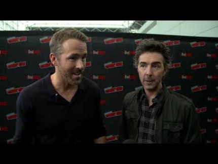 """FREE GUY"" Ryan Reynolds & Shawn Levy NYCC"