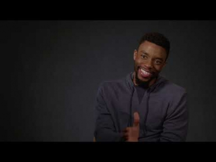 "Chadwick Boseman reveals all of ""21 Bridges"""