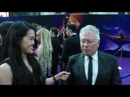 Alan Menken at the premiere of Disney's latest live-action remake, Aladdin.