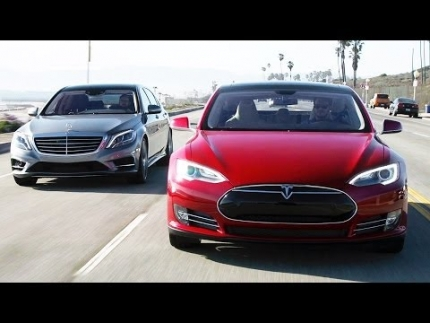 2014 Tesla Model S vs 2014 Mercedes-Benz S550! - Head 2 Head Ep. 54