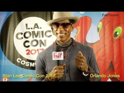 Orlando Jones at 'Stan Lee Comic Con 2017' on FabulousTV