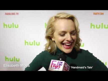 Elisabeth Moss discusses Hulu's 'Handmaid's Tale' on FabulousTV