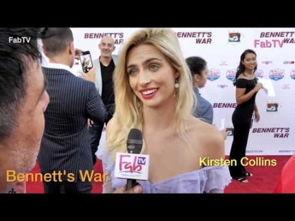 "Singer Kirsten Collins at the ""Bennett's War"" red carpet"