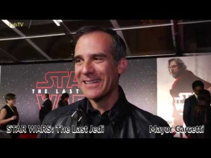 Los Angeles  Mayor Eric Garcetti at STAR WARS: The Last Jedi