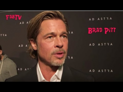 """AD Astra"" with  Brad Pitt Red Carpet"
